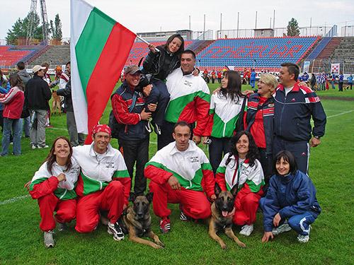 треньор на кучета състезание